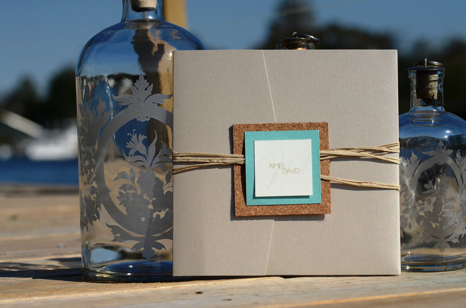 Beach Pocket Invitation